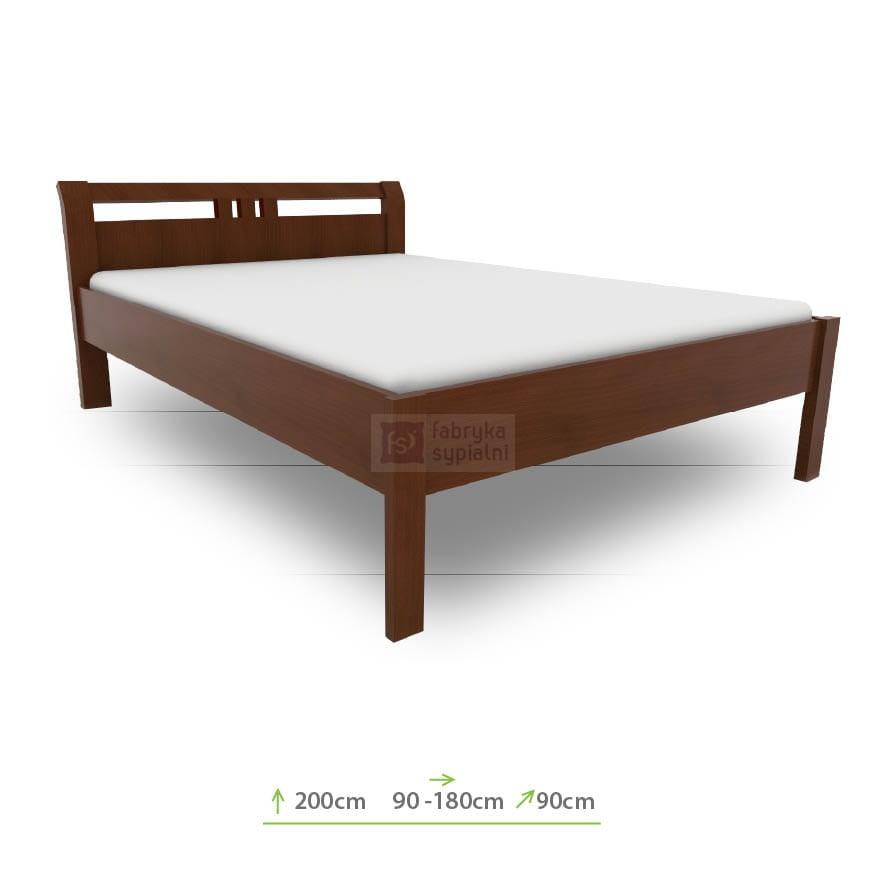 łóżko Notte Bukowe