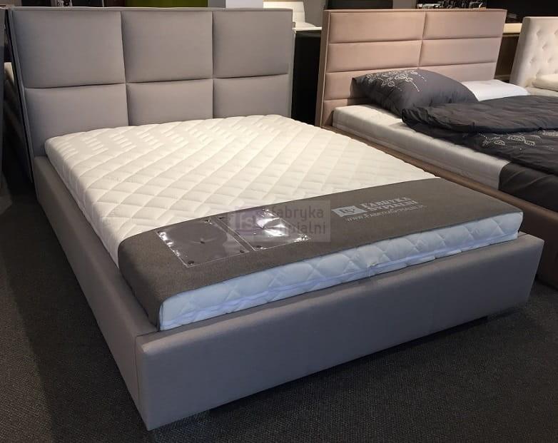Bardzo dobra Łóżko tapicerowane Quaddro Plus z pojemnikiem New Design Fabryka CO28