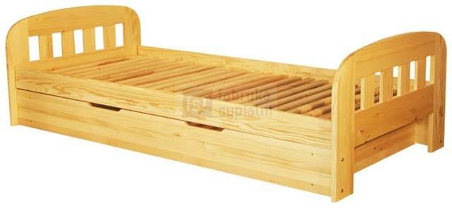 łóżko Sosnowe Utte Ii Z Pojemnikiem Spar Meble