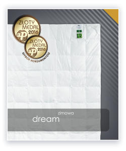 Kołdra DREAM zimowa puch 90%