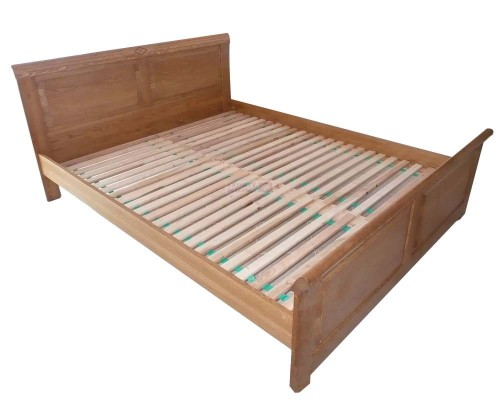łóżko Sandra Bez Pojemnika Dębowe Spar Meble