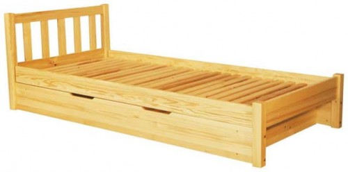 łóżko Sosnowe Lolek Ii Z Pojemnikiem Spar Meble