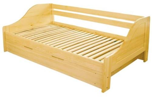 łóżko Sosnowe Maciek Ii Z Pojemnikiem Spar Meble