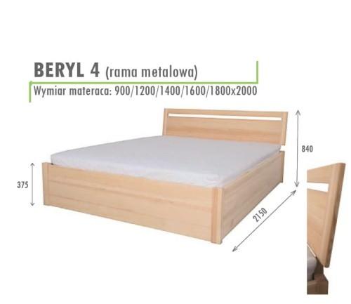 łóżko Beryl 4 Z Pojemnikiem Na Pościel